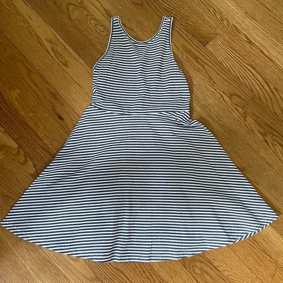 Old navy striped skater dress
